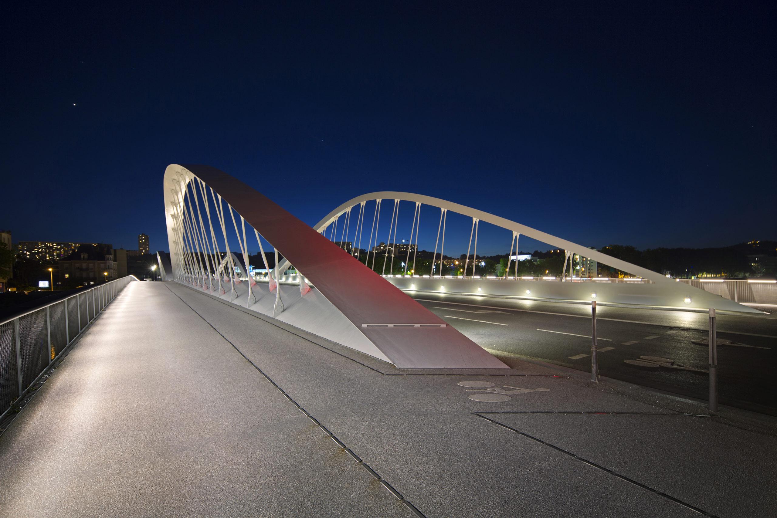 Pont Schuman à Lyon