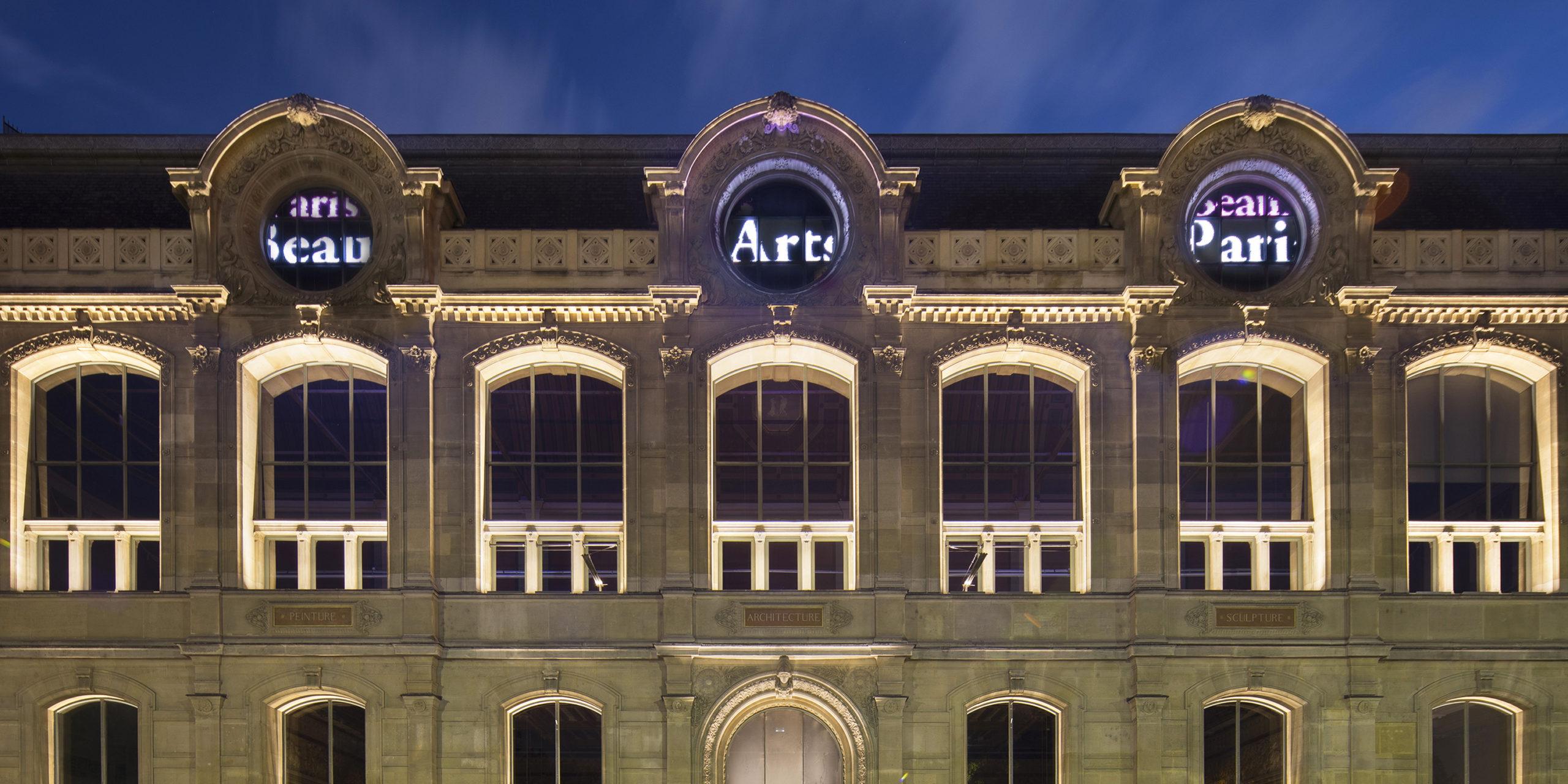 Ecole des Beaux arts à Paris