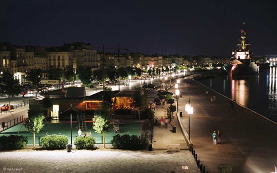 Quais rive gauche à Bordeaux