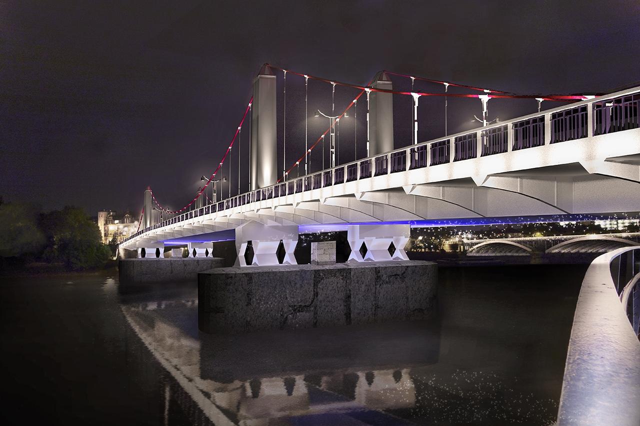 Chelsea Bridge à Londres