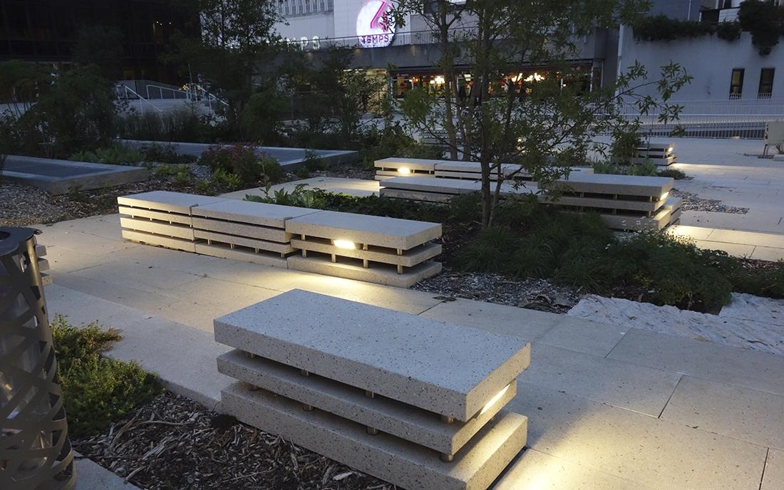 Terrasses Boieldieu à Paris la Défense