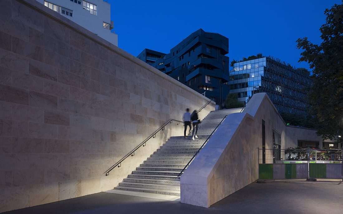 Promenade Claude Levi Strauss - ZAC Tolbiac Chevaleret à Paris