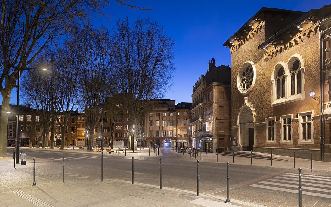 Place du salin à Toulouse