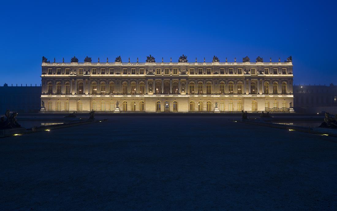 Façade ouest du château de Versailles