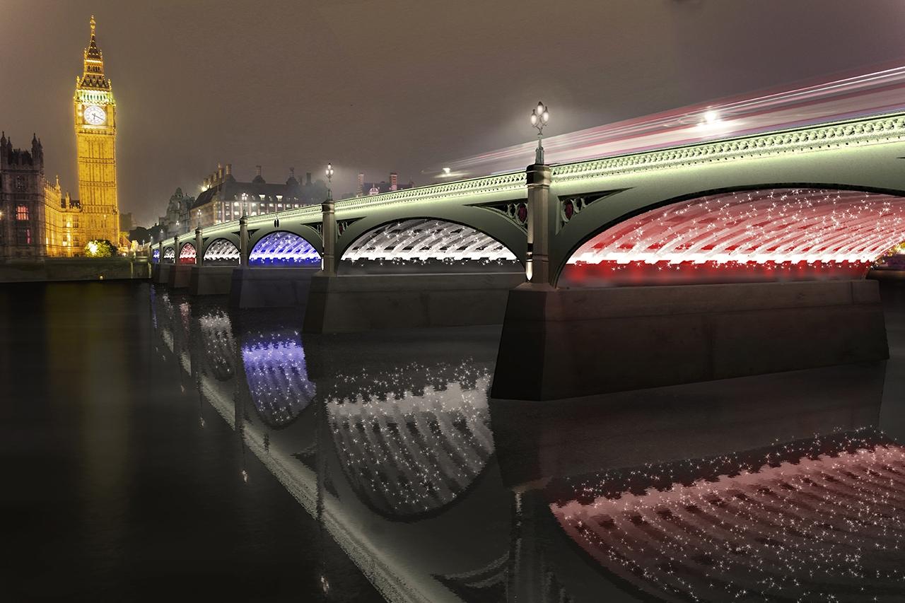 Wesminster Bridge à Londres